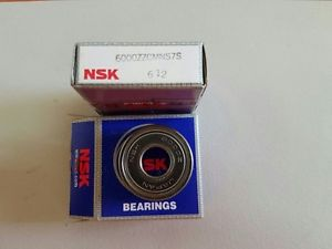 Lot of 2 NSK 6000ZZCMNS7S bearing NOS