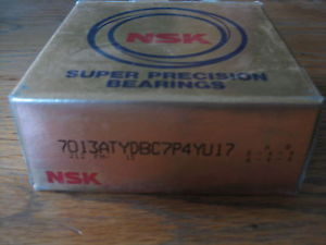 1 Pair 7013ATYDBC7P4Y U17. NSK Super Precision Bearings