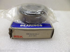 NSK 32206J TAPERED ROLLER BEARING AND CUP/RACE HR32206J NOS