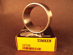 Timken 09194 Tapered Roller Bearing Cup, 9194