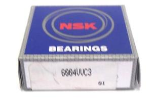NEW NSK 6004VVC3 BEARING SEALED DEEP GROOVE 20MM ID 42MM OD