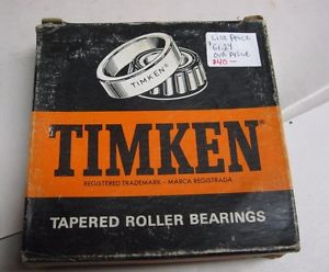 665 Timken tapered roller bearing single cone