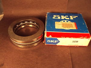 SKF 51218, Grooved Race Thrust Bearing
