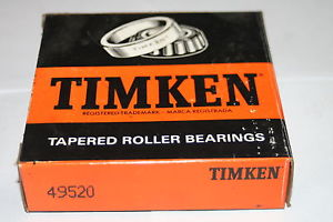 Timken 49520 Tapered Bearing Precision Single Cup * NEW *