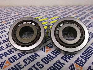 2 x SNR O.E. gearbox bearing, EC.42228.S01.H206, Replaces NP868033/NP666556