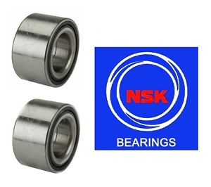 Set of 2 NSK Brand Front Wheel Bearing 40BWD06 NEW