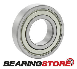 6001-2Z-SNR – METRIC BALL BEARING – METAL SHIELD