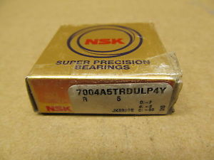 1 NIB NSK 7004A5TRDULP4Y SUPER PRECISION BEARING ANGULAR CONTACT