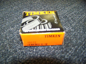 Timken Tapered Roller Bearing # 15112 4 ea. New