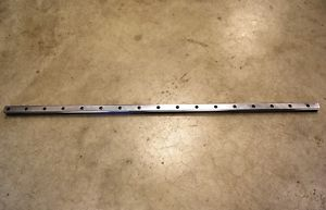 "Hiwin HGR35H 42672-4 Linear Rail 53.25"" long. 1-5/16"" wide 1-1/8"" thick"