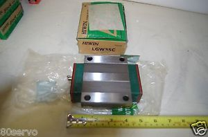 HIWIN LINEAR BEARING BLOCK LGW35C NEW!