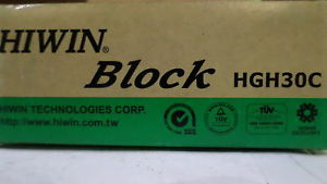 HIWIN HGH30C BLOCK *NEW IN BOX*