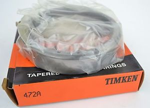 Timken 472a Tapered Roller Bearing Cup F3