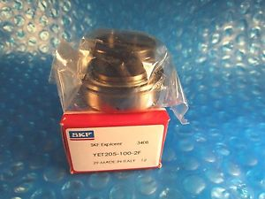 "SKF YET 205-100-2F, YET205-100-2F, Ball Bearing Insert,1"" ID x 52 mm OD"