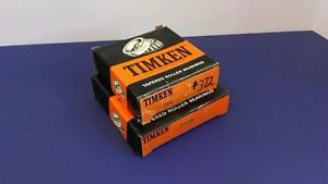 """Timken tapered roller bearing 390 3920 2.25"""" I'd 4.4375od new"""