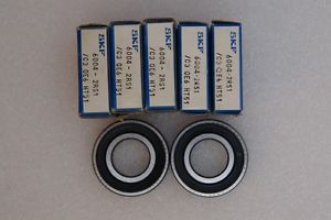 SKF 6004 2RS JEM Deep Groove Ball Bearing( Lot of 7 )