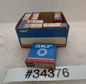 Lot of Seven SKF Bearings 6000-2RSJEM (Inv.34376)
