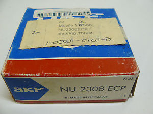 NEW SKF NU 2308 ECP CYLINDRICAL ROLLER BEARING
