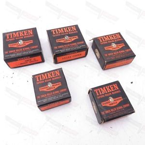 Timken NOS GRAB BAG! Tapered Roller Bearing Cone and Cup LOT (5 Boxes)