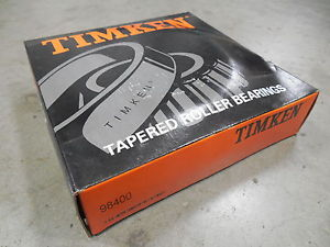 NEW Timken 98400-20024 Tapered Roller Bearing