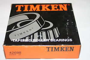 """Timken 42688 Tapered Roller Bearing Cone 3"""" Bore  * NEW"""