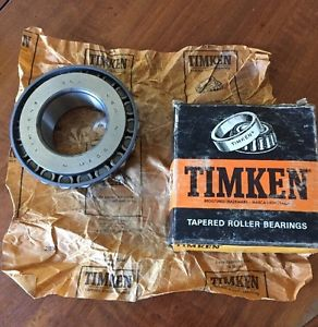 Timken 762 Roller Bearing Cone. Vintage Old School Quality. USA Made.