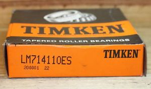 TIMKEN BEARING LM 714110 ES RING