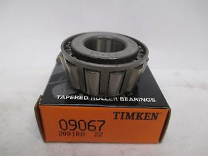 NEW TIMKEN TAPERED BEARING 09067