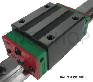 HIWIN HGH15 LINEAR MOTION CARRIAGE RAIL GUIDE SHAFT CNC ROUTER SLIDE BEARING