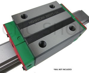 HIWIN HGH45 LINEAR MOTION CARRIAGE RAIL GUIDE SHAFT CNC ROUTER SLIDE BEARING