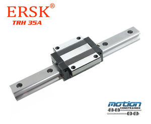 New ERSK TRH-35A Flange Block Linear Guide 280 to 3960mm L / THK / Hiwin Type