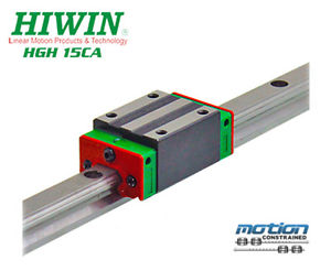 New Hiwin HGH15CAZAC Square Block Linear Guides HGH15 Series up to 1960mm Long