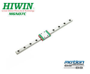 New Hiwin MGN7C Linear Guides MGN Series Linear Bearings / 25mm to 595mm Long