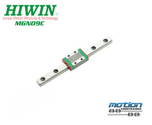 New Hiwin MGN9C Linear Guides MGN Series Linear Bearings / 30mm to 1190mm Long