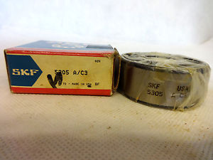 NEW IN BOX SKF 5305-A/C3 DOUBLE ROW ANGULAR CONTACT BALL BEARING
