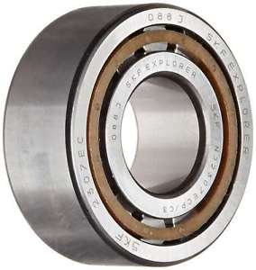 SKF NJ 2307 ECP/C3 Cylindrical Roller Bearing, Single Row, Removable Inner Ring,