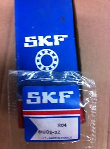 SKF 61802-2Z Or 61802-ZZ Double Sealed Single Row Ball Bearing NIB Guaranteed