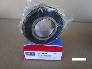 SKF 6205-2RSH C3 Single Row Ball Bearing