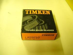 Timken Tapered Roller Bearings LM29710 New!
