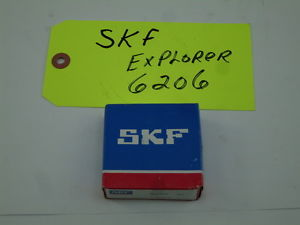 New SKF 6206 Explorer Bearing