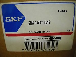 SKF MODEL SNW 144 X 7-15/16 BEARING ADAPTER SLEEVE NEW IN BOX