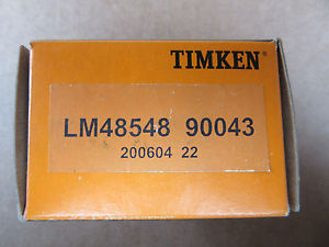 Timken LM48548 90043 Bearing NEW!!! in Box Free Shipping
