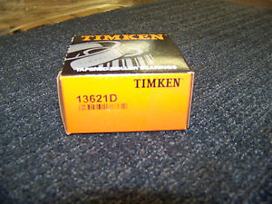 Timken Tapered Roller Bearing Cone Double Cup #13621D New