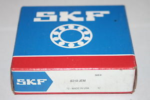 SKF 6210-JEM Deep Groove Bearing (210) * NEW