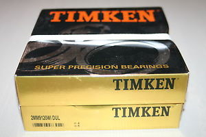 Timken 2MM9120.WI.DUL Super Precision Bearings (SKF 7020 CDP4A/DGA) * NEW *