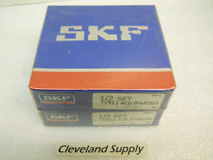 SKF 71913 ACD/P4ADGA PRECISION BEARINGS (MATCHED SET) NEW SEALED CONDITION