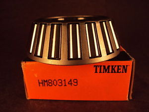 Timken HM803149 Tapered Roller Bearing, Single Cone