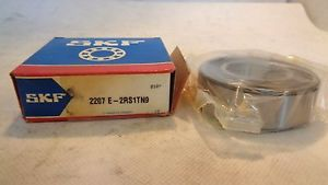 NEW IN BOX SKF 2207E-2RS1TN9 SELF ALIGNING BALL BEARING