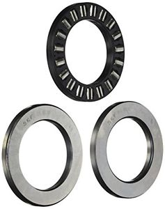 SKF 81210 TN Cylindrical Roller Thrust Bearing, Polyamide/Nylon Cage, Metric,