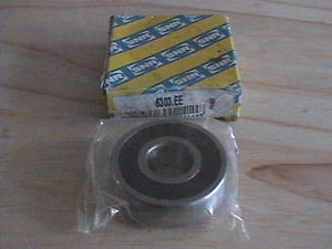 SNR 6303 2RS DOUBLE RUBBER SEAL BALL BEARING 17mmX47mmX14mm 6303 DDU NEW NEW